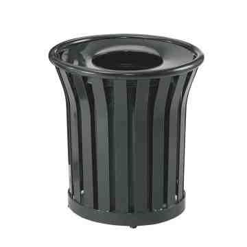 Americana - Avenue - Steel Waste Receptacle 36G ,  1 / EA