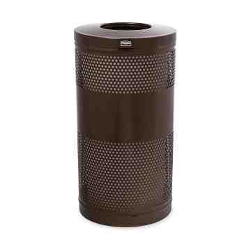Classics Series - Recycle Drop Top Receptacle w/Levelers 25G ,  1 / EA