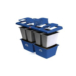 Glutton Recycling Station 92G - Blue [256R], 1/EA
