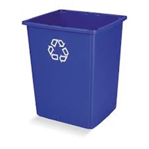 Glutton Recyling Container 56G - Blue, 4/EA