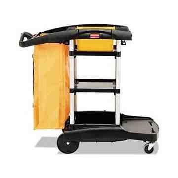 High Capacity Janitor Cart, 1/EA