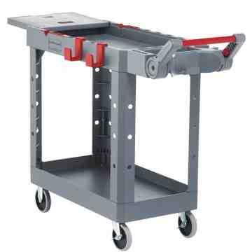 HD Adaptable Utility Cart - Small - Gray, 1/EA
