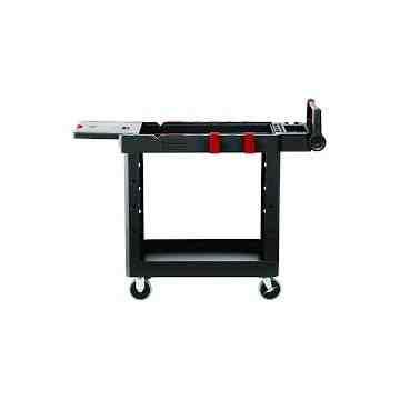 HD Adaptable Utility Cart - Small - Black, 1/EA