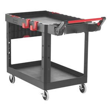 HD Adaptable Utility Cart - Medium - Black, 1/EA
