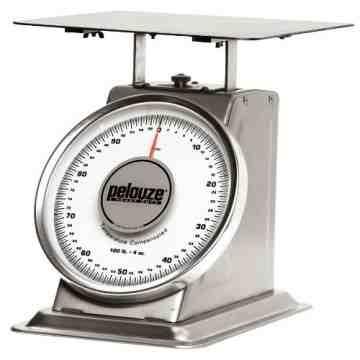 Heavy Duty Mechanical Receiving Scale 200lbs, 1/EA