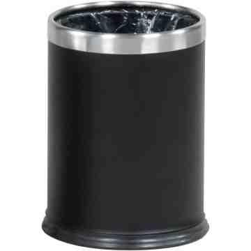 Hide A Bag - Open Top Wastebasket 3.5G-Black ,  1 / EA