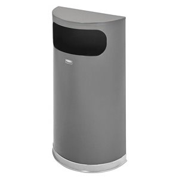 European Series - Half Round Trash Receptacle 9G ,  1 / EA
