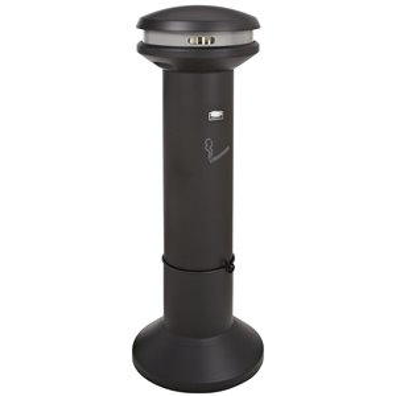 Infinity High Cap Smoking Receptacle - Black, 1/EA
