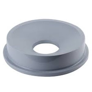 Funnel Top Round Fits 2632 Container - Gray, 4/EA