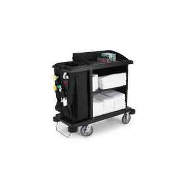 Full Size X-tra HK Cart w/vinylbag/Bumpers - Black, 1/EA