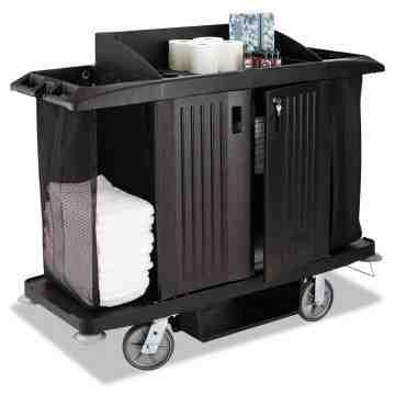 Full Size HK Cart Traditional - Black, 1/EA