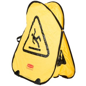 Folding Safety Cone Int'l Symbol Only, 12/EA