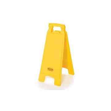 "Floor Sign 2-Sided 25""H Blank - Yellow, 6/CS"