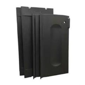Janitor Cart Door Kit Fits 1861427/9T75/76/77/78 & More - Black[9T85], 1/EA