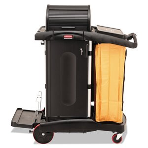 Janitor Clean Cart High Security - Black [1861427], 1/EA