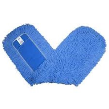 """Kut-A-Way Dust Mop 18"""" - Blue, 12/EA"""