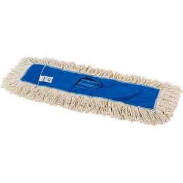 """Kut-A-Way Dust Mop 60"""" - White, 12/EA"""