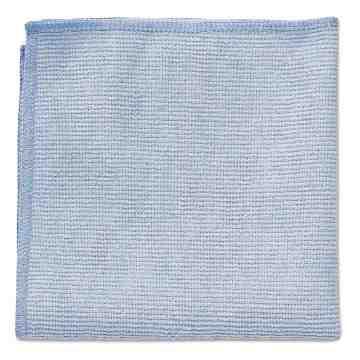 "LD Microfiber Cloth 12x12"" - Blue[24/pk][Q605], 24/PK"