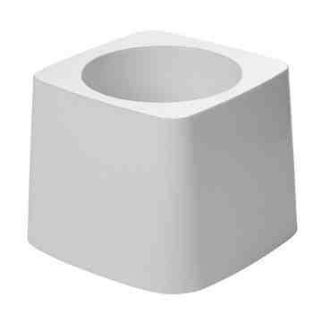 Toilet Bowl Brush Holder Fits 6310 Brush - White, 24/EA