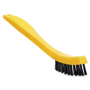 """Tile and Grout Brush - 8.5"""" (21.6cm) with Curved/Ribbed Plastic Bristles, 12/EA"""