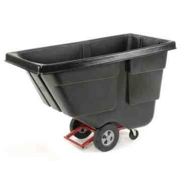 Tilt Truck Utility Duty 1/2 cu yd - Black, 1/EA
