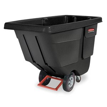 Tilt Truck Utility Duty 1 cu yd - Black, 1/EA