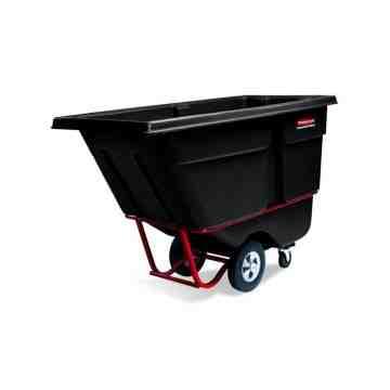 Tilt Truck Standard Duty 1/2 cu.yd - Black, 1/EA