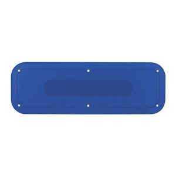 "Tilt Truck Placard 18x6"" - Blue, 1/EA"