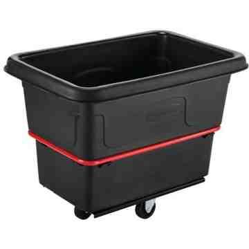 Utility Truck HD 700lb/8cuft - Black, 1/EA
