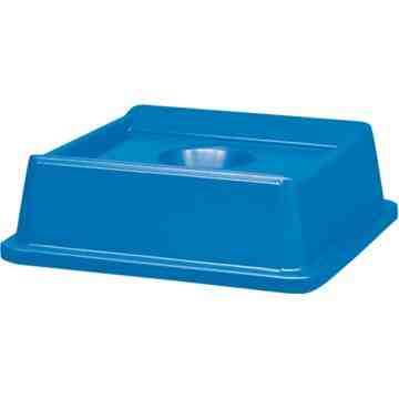Untouchable Bottle & Can Recycling Top Fits 3958/3959 - Blue, 4/EA