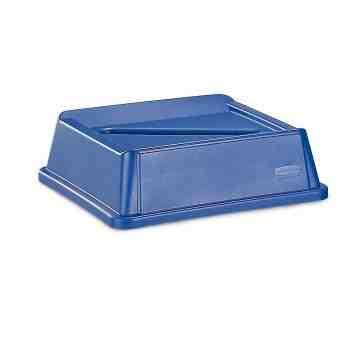 Untouchable Paper Recycling Top Fits 3958/3959 - Blue, 4/EA