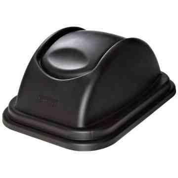 Untouchable Top fits 2957 Container - Black, 6/EA