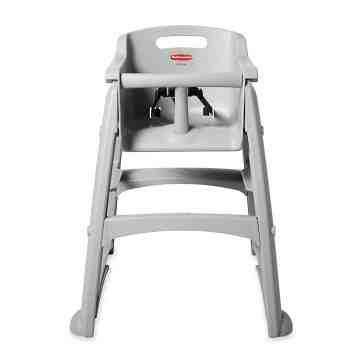 Sturdy Chair Youth Seat w/wheels - Platinum, 1/EA
