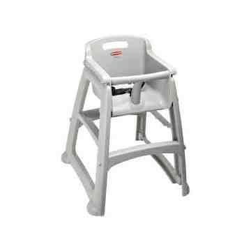 Sturdy Chair Youth Seat w/o wheels - Platinum, 1/EA