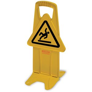 Stable Safety Sign - Int'l Symbol Only, 6/EA