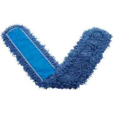 """Dust Mop - Synthetic 60"""" - Blue, 12/EA"""