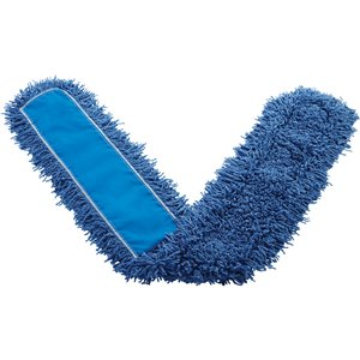 """Dust Mop - Synthetic 18"""" - Blue, 12/EA"""