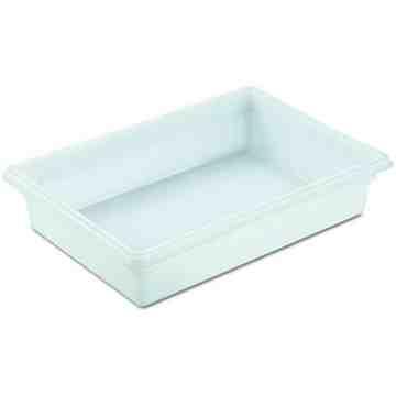 """Dur-x Food/Tote Box 26x18x6"""" - 8.5G - White, 6/EA"""