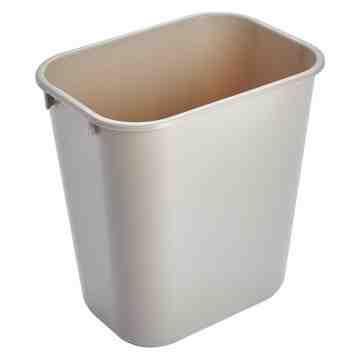 Wastebasket Vanity 41 1/4qt - 39L - Beige, 12/EA