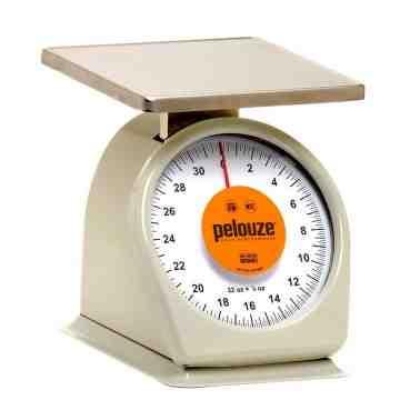 Washable Mechanical  Portion Control Scale 32oz 1/8oz Quick Stop, 4/EA