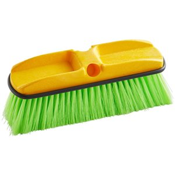 "Wash Brush - 10"" (25.4 cm), Plastic Block, Nylon Fill, 6/EA"