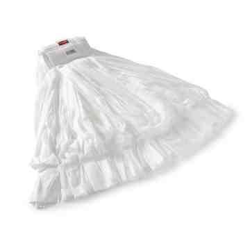 """Wet Mop - Disposable No.24 - 5"""" - White, 24/EA"""
