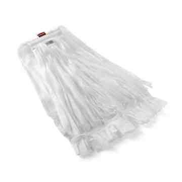 """Wet Mop - Disposable No.24 - 1"""" - White, 24/EA"""