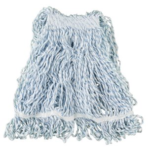 """Wet Mop - Web Foot Finish Looped End 24oz 1"""" - White, 6/EA"""