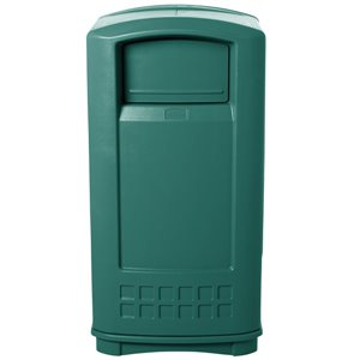 Plaza  Container 35G - DarkGreen, 1/EA