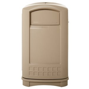 Plaza Container 50G - Beige, 1/EA