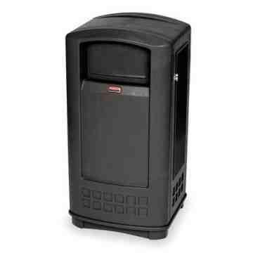 Plaza Container 50G - Black, 1/EA