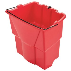 Wave Brake 2.0 - Dirty Water Bucket Only Fits 35qt - Red, 1/EA