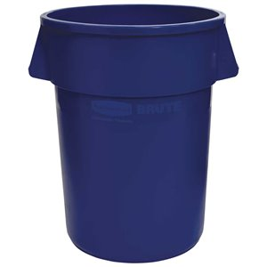 Brute Container Straightwall 20G - Blue, 6/EA