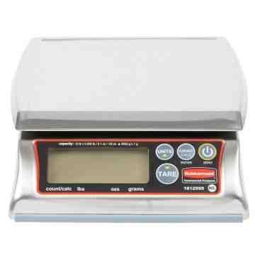 Scale - Digital Portioning 12Lb Premium Stainless Steel Dishwasher Safe, 4/EA